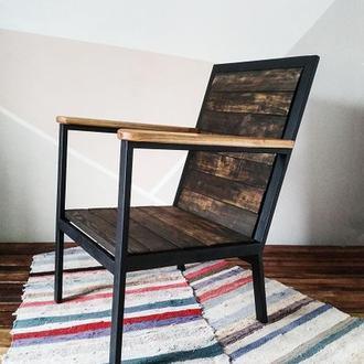 """Кресло в стиле лофт """"Старый мельник"""""""