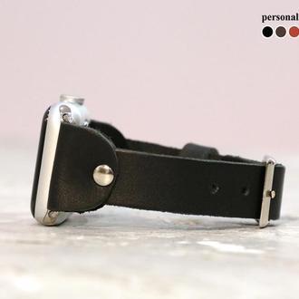 Кожаный ремешок для Apple Watch, код 1340