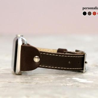 Кожаный ремешок для Apple Watch, код 1340ст