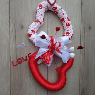 Декоративные сердца ко дню Святого Валентина