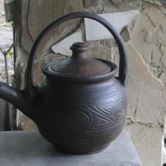 Чайник заварочный с высокой ручкой