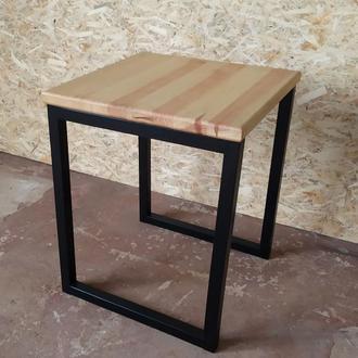 "Столик в стиле ""Лофт"". Для кухни, сада, кафе."