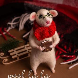 """"""" Пан Щур """"  , Игрушка из Шерсти , Подарок , Интерьерные игрушки , Ручная Работа"""