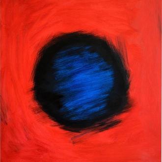 Магніт, живопис, полотно, олія, галерейна натяжка, 70х80 см, ефектна велика абстрактний живопис