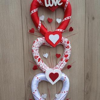 Декор серця до дня святого Валентина