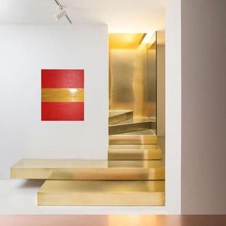 Картина Тройная полоса везения, 60х70 см, холст, масло, галерейная натяжка, на удачу и везение