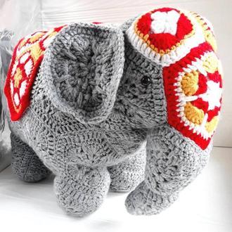 Большая игрушка подушка Слон