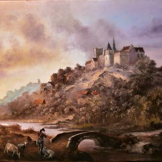 Картина художника Николая Климковича ,написана маслом в наличии75х110 холст масло