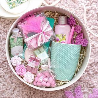 Подарочный набор на 8 Марта/Gift box Мятная роза