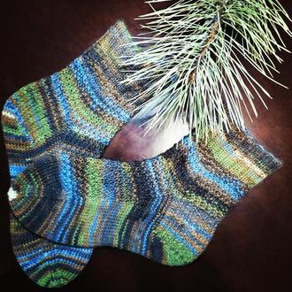 Вязанные носки.