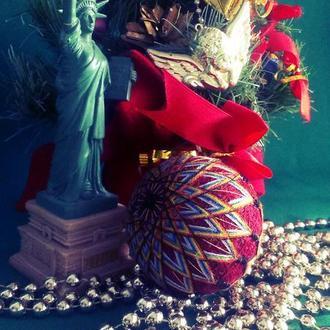 Темари: Цветное Золото (шар принцессы)