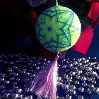 Темари: Звезда (шар принцессы)