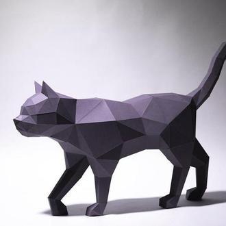 Кот в движении