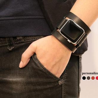 Кожаный ремешок для Apple Watch, код 1620