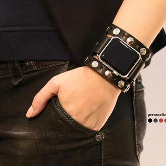 Кожаный ремешок для Apple Watch, код 1625