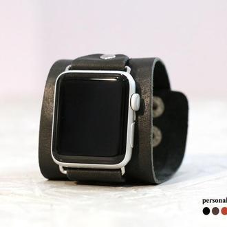 Кожаный ремешок для Apple Watch, код 1105
