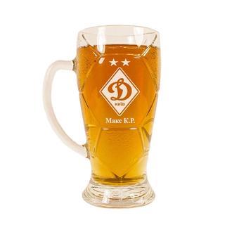 Бокал для пива c гравировкой 600 мл