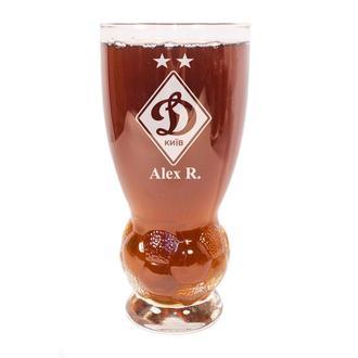 Бокал для пива с гравировкой 410 мл