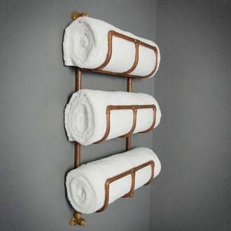 Сушка для полотенец, полотенцесушитель из меди
