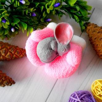 Мишеня Крихітка на рукавицях