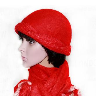 ПАНАЦЕЯ - шляпка – АВТОРСКИЙ ВОЙЛОК ручной работы купить в Украине ... 2203daa24b8f8