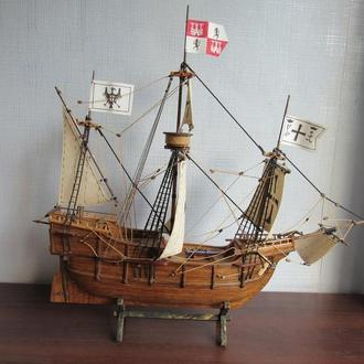 "Модель парусного корабля ""Санта Мария"""