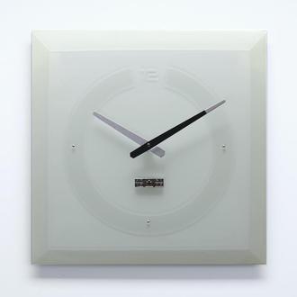 Часы настенные из стекла Facet-1, Sklo+Glas
