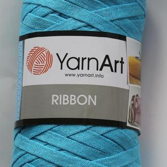 Трикотажная пряжа лента. Для вязания корзинок, ковриков и т.д. Ribbon. YarnArt