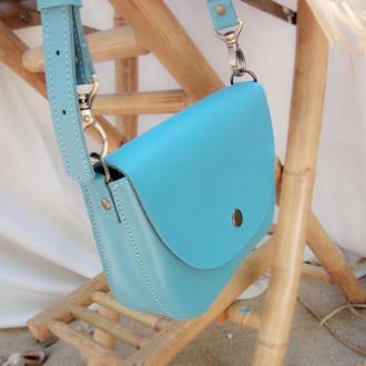 Waist bag Mira azure (артикул: wb014.8)