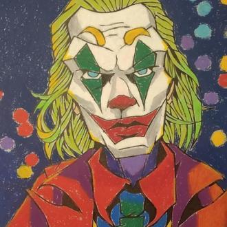 Картина маслом Джокер
