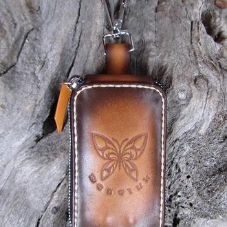 органайзер-ключница кожаная,ключницы для обычных ключей,ключницы для автомобильных ключей