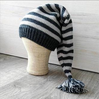 Весела шапочка-ковпачок для хлопчика