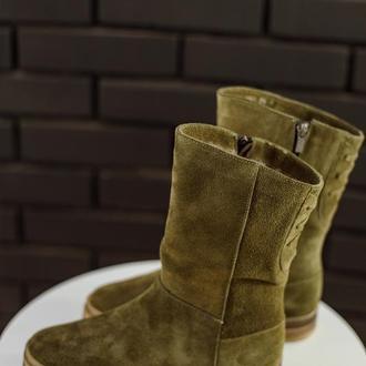 Ботинки зимние женские Aura Shoes 9502100