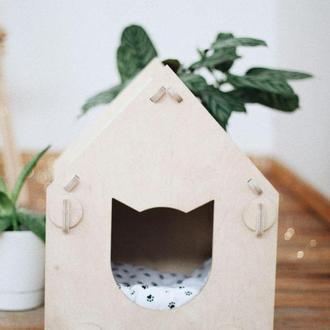 Домик-конструктор для котика
