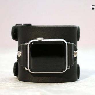 Кожаный ремешок для Apple Watch, код 1200