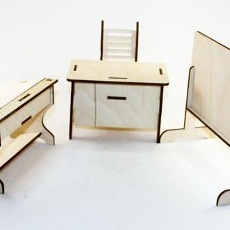 """Набор мебели для кукол """"Школа"""""""