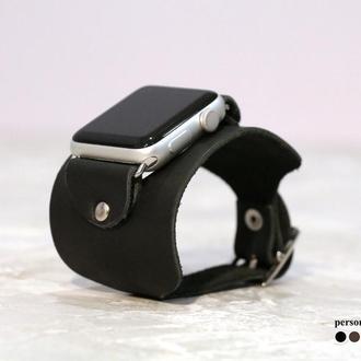 Кожаный ремешок для Apple Watch, код 1310