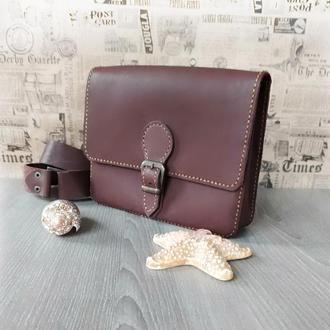 Набедренная  женская сумка