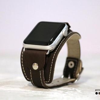 Кожаный ремешок для Apple Watch, код 1357ст
