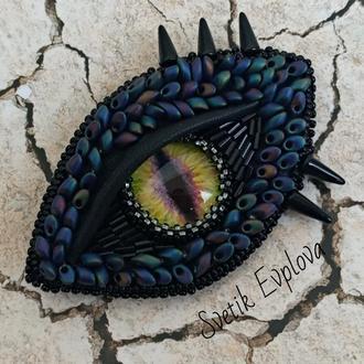 """Брошь """"Глаз Дракона"""""""