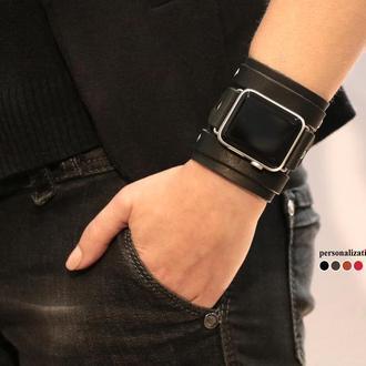 Кожаный ремешок для Apple Watch, код 1715