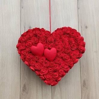 Серце Червоне для декору до дня святого Валентина