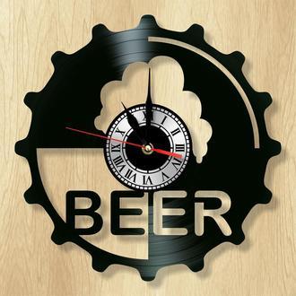 """Настенные часы """"Пиво"""" - классный подарок для себя и своих близких."""
