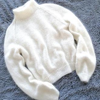 Шикарный свитер из пуха норки