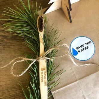 Бамбуковая зубная щетка / Бамбукова зубна щітка