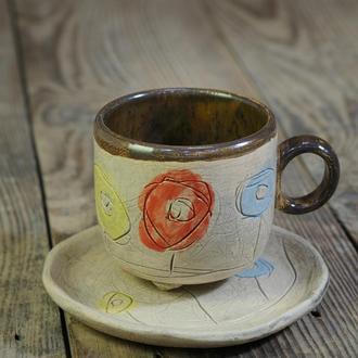 Керамическая чашка для кофе