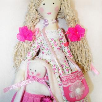 Кукла Кэтти с зайкой