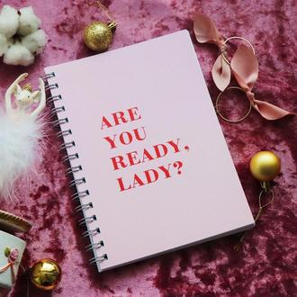 "Планер ""ARE YOU READY LADY?"""