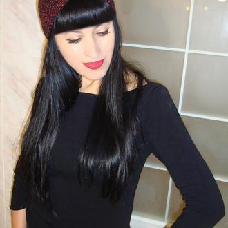 Вязаная повязка на голову чалма женская - collection 2020