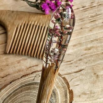 «Вереск», дерев'яна шпилька